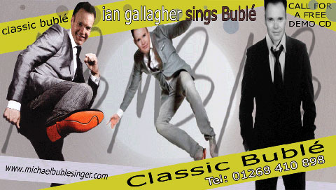 Ian Gallagher sings Buble